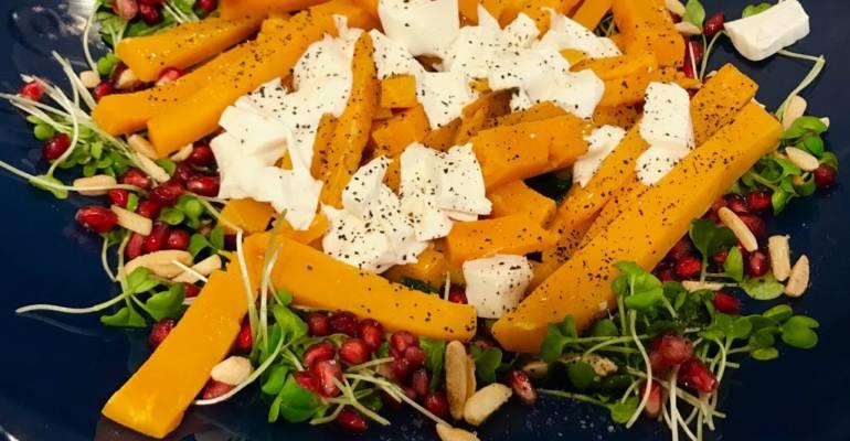 Butternut Squash 'Carpaccio' Salad