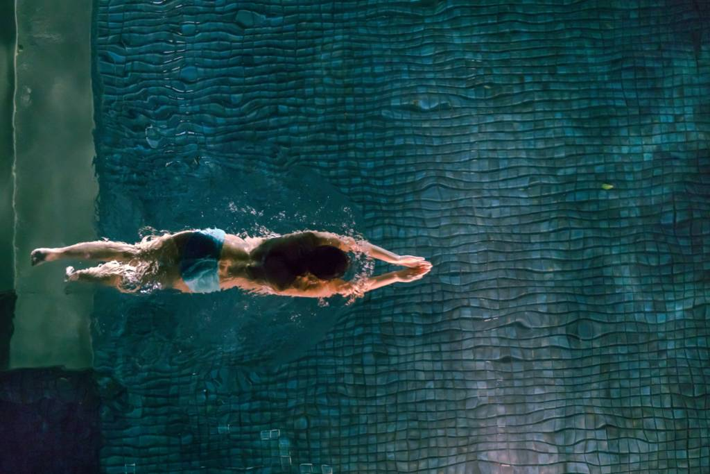Swimming exercise for older adults
