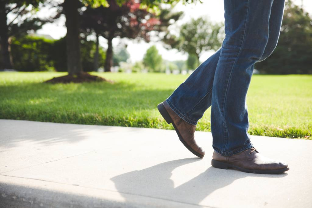 Walking exercise for older adults