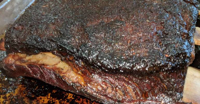 Texas-Whisky Drenched BBQ Ribs