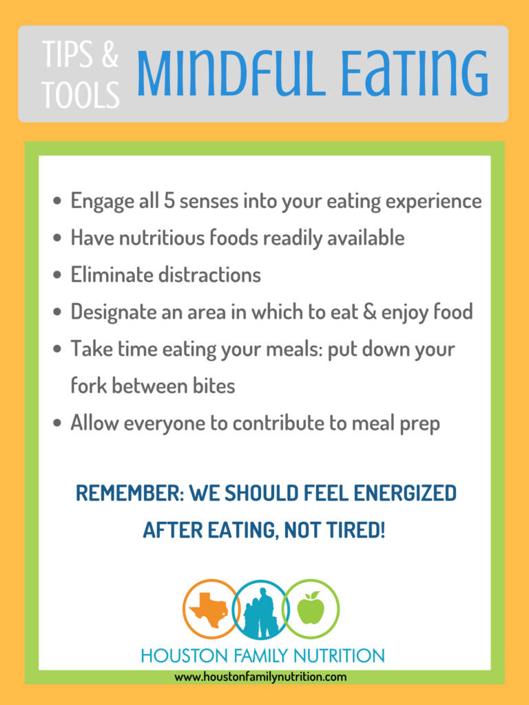 6 Tips for Mindful Eating