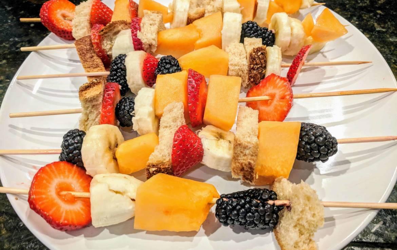 Kid-Friendly Fruit Kabobs Recipe