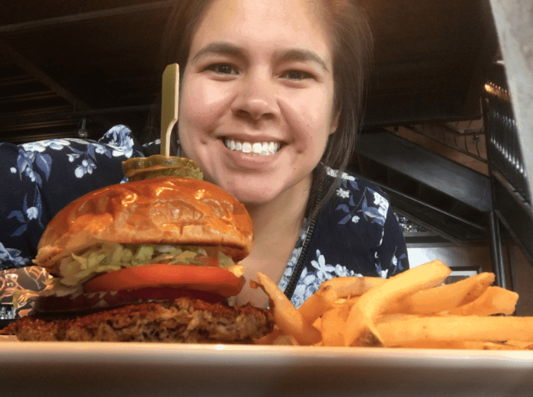Eating the impossible burger