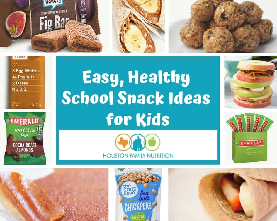 Easy, Healthy School Snack Ideas for Kids