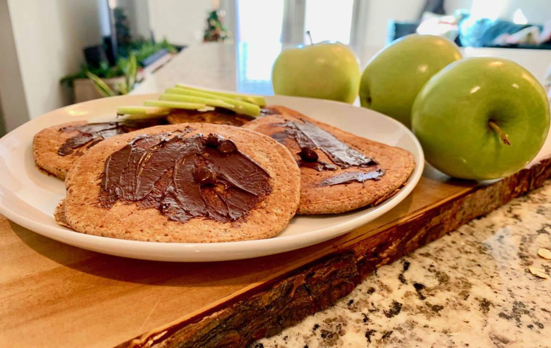 Apple Chocolate Chip Pancakes Recipe