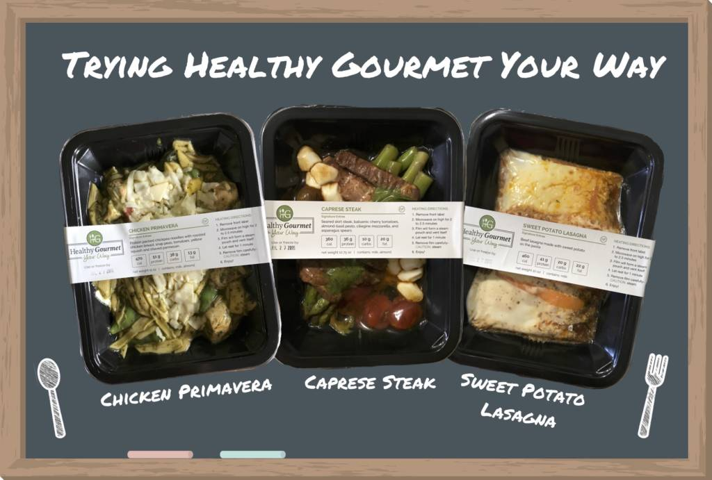 Healthy Gourmet Your Way - Easy, Precooked Meals for all diets without a subscription